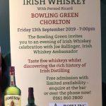 Irish whiskey evening…